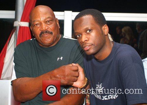 Jim Brown and Pras