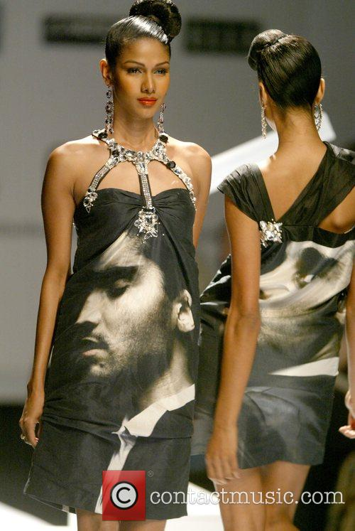 Prashant Verma catwalk show, Spring/Summer 2008 Wills India...