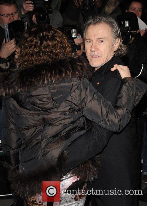 Harvey Keitel and Guest Finch & Partners' Pre-BAFTA...