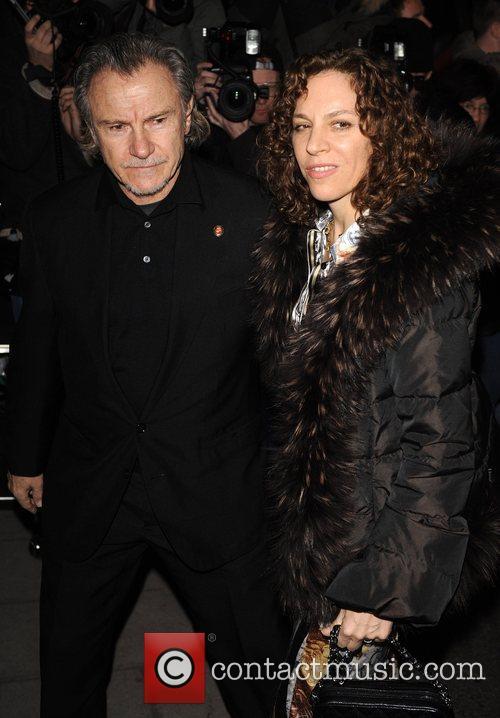Harvey Keitel and Daphna Kastner Finch & Partners'...