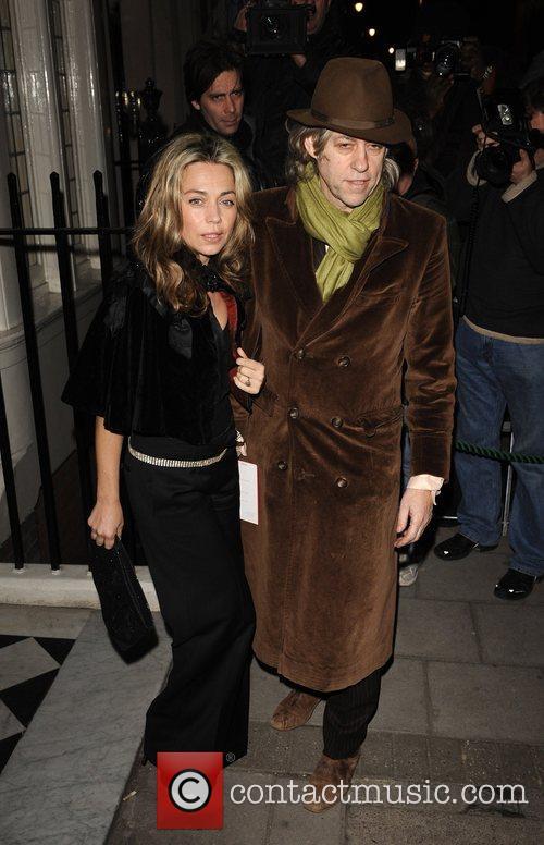 Jeanne Marine, Bob Geldof, BAFTA