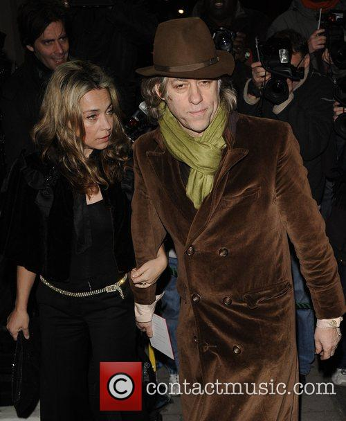 Jeanne Marine and Bob Geldof 2