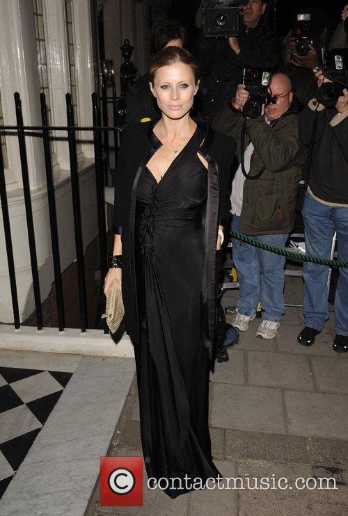 Laura Bailey Finch & Partners' Pre-BAFTA Party held...
