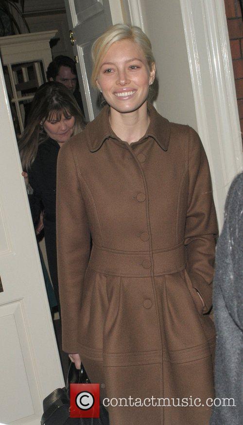 Jessica Biel Finch & Partners' Pre-BAFTA Party held...