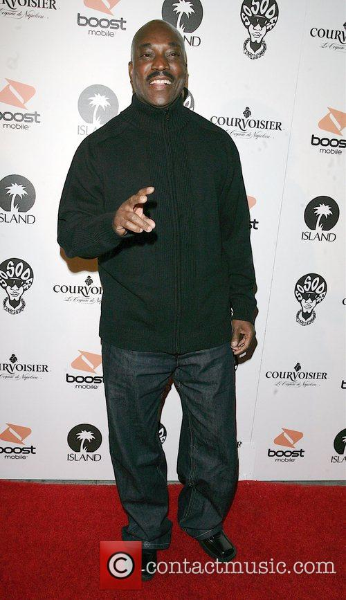Clifton Powell arriving at a Pre Grammy party...