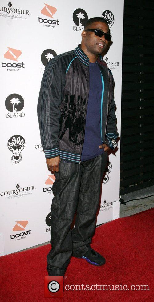 David Banner arriving at a Pre Grammy party...