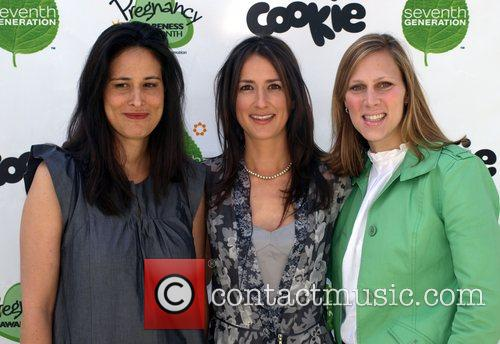 Alanna Stang,Anna Getty and guest Pregnancy Awareness Event...