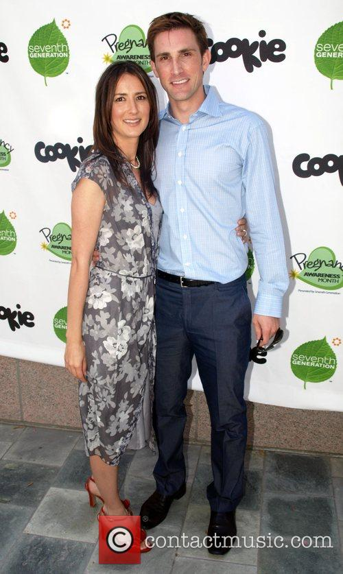 Anna Getty and Christopher Gavigan Pregnancy Awareness Month...