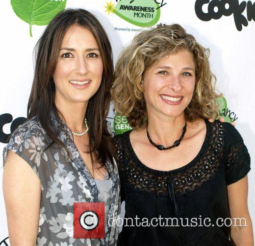 Anna Getty and Lisa Druxman Pregnancy Awareness Month...