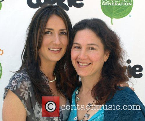 Anna Getty and Diana Dalori Pregnancy Awareness Month...