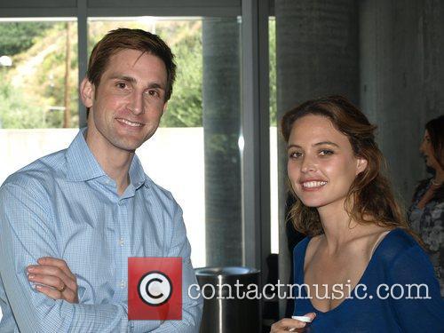 Christopher Gavigan and Josie Maran Pregnancy Awareness Month...