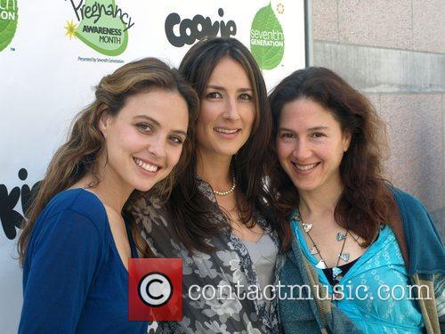 Josie Maran,Anna Getty,and Diana Dalori Pregnancy Awareness Month...