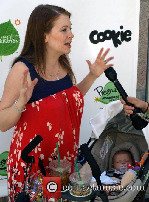 Melissa Joan Hart Pregnancy Awareness Month Event held...