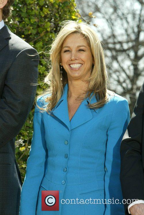 Denise Austin and White House