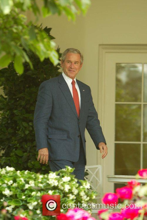 President George Bush who has been under fire...