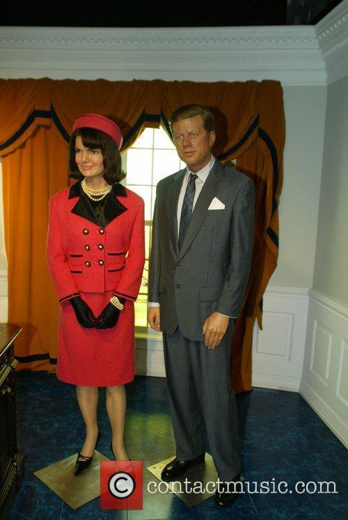 President John Fitzgerald Kennedy and Jaqueline Bouvier Kennedy...