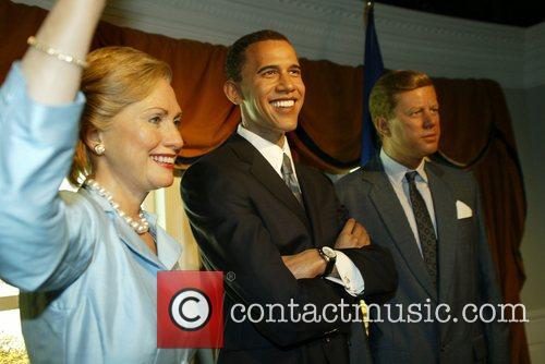 Hillary Clinton and Barack Obama 2