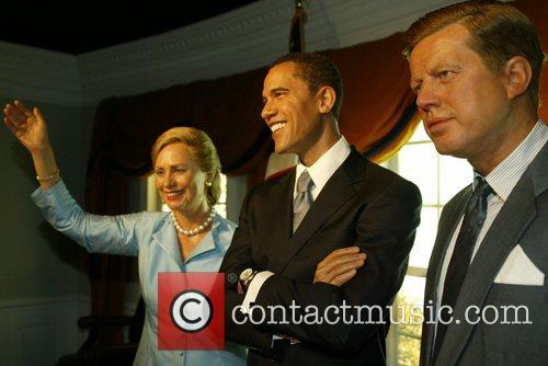 Hillary Clinton and Barack Obama 4