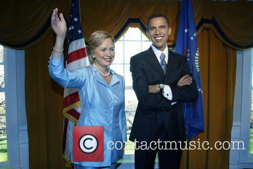 Hillary Rodham Clinton and Barack Obama 2