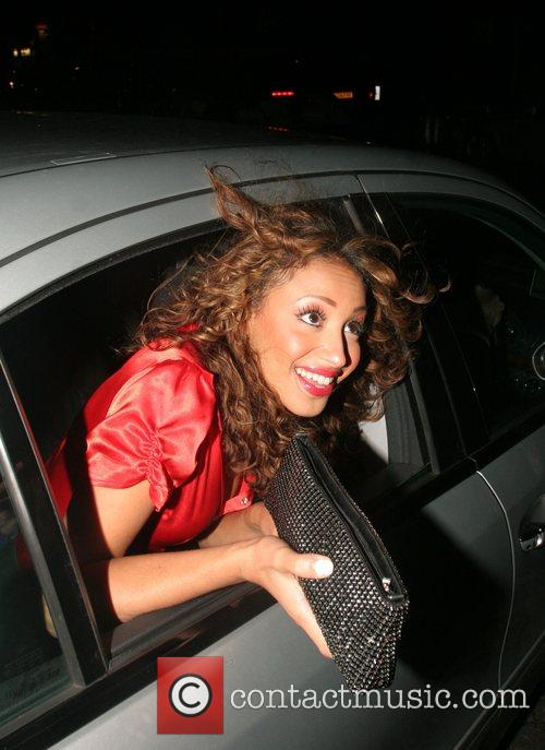 Amelle Berrabah of Sugababes The Pride of Britain...