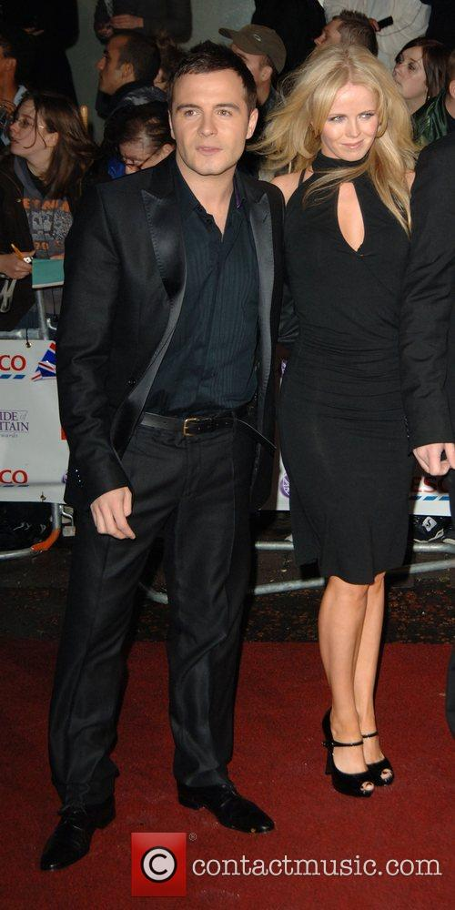 Shane Filan of Westlife and Gillian Walsh The...