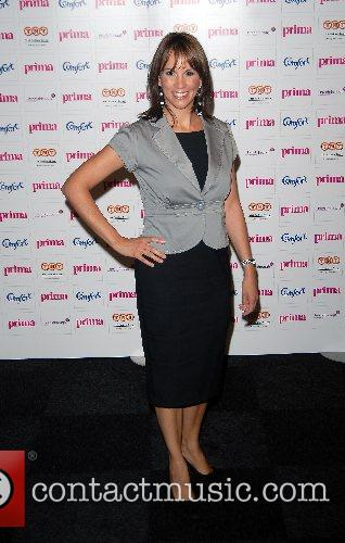 Andrea McLean Comfort Prima High Street Fashion Awards...