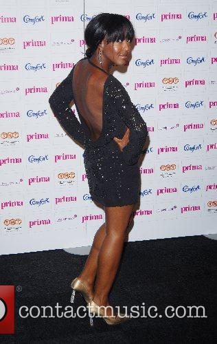 Angelica Bell Comfort Prima High Street Fashion Awards...