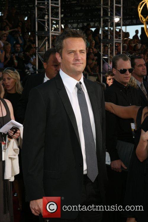 Matthew Perry The 59th Primetime Emmy Awards at...