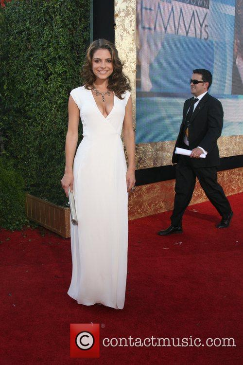 Maria Menounos The 59th Primetime Emmy Awards at...