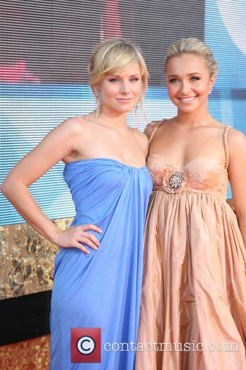 Kristen Bell and Hayden Panettiere The 59th Primetime...