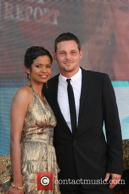 Justin Chambers and Guest The 59th Primetime Emmy...