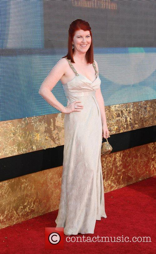 Kate Flannery The 59th Primetime Emmy Awards at...