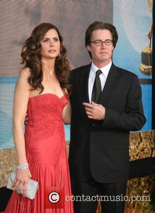 Kyle MacLachlan and Desiree Gruber The 59th Primetime...