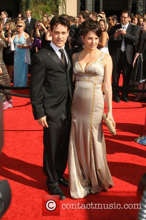 T.R. Knight and Guest The 59th Primetime Emmy...