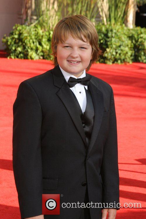 Angus T Jones The 59th Primetime Emmy Awards...