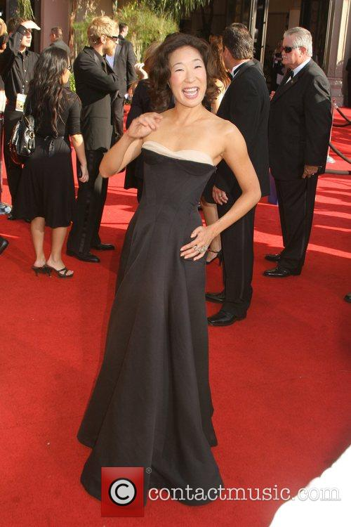 Sandra Oh The 59th Primetime Emmy Awards at...
