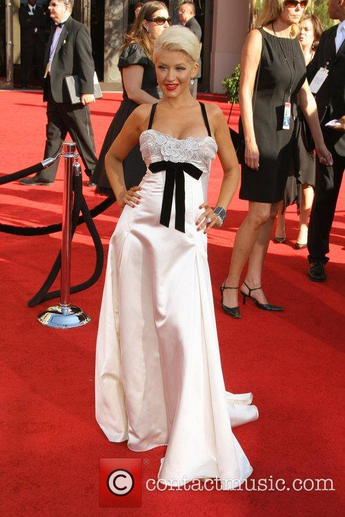 Christina Aguilera The 59th Primetime Emmy Awards at...