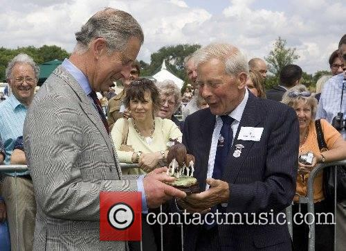 Prince Charles, The Prince of Wales receives a...
