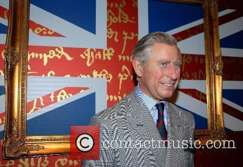 Prince Charles, Prince Of Wales 'eco-friendly' waxwork unveiling...