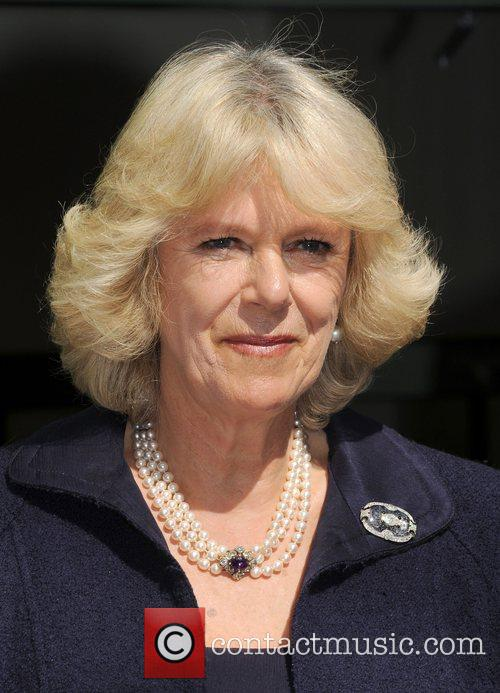 Camilla, Duchess of Cornwall attends the opening of...