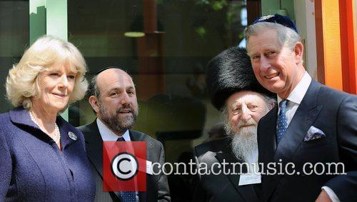 Prince Charles, Prince Of Wales, Wearing A Jewish Yarmulka, Camilla and Duchess Of Cornwall Open The Krakow Jewish Community Centre 8