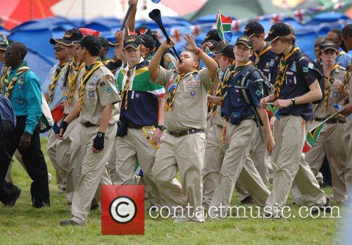The 21st World Scout Jamboree opening ceremony