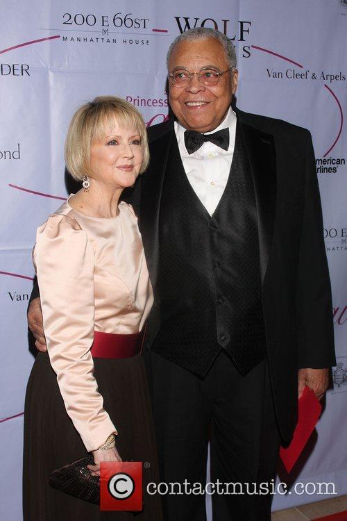 James Earl Jones and Cecilia Hart 25th Anniversary...