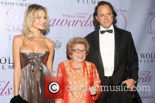 Dr. Ruth Westheimer and guests 25th Anniversary Princess...