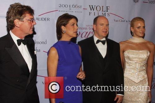 Princess Caroline of Monaco, Prince Albert of Monaco,...
