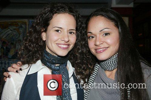 Mandy Gonzalez & Karen Olivo Unveiling of Priscilla...