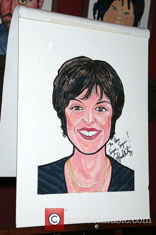 Priscilla Lopez Unveiling of Priscilla Lopez's caricature at...