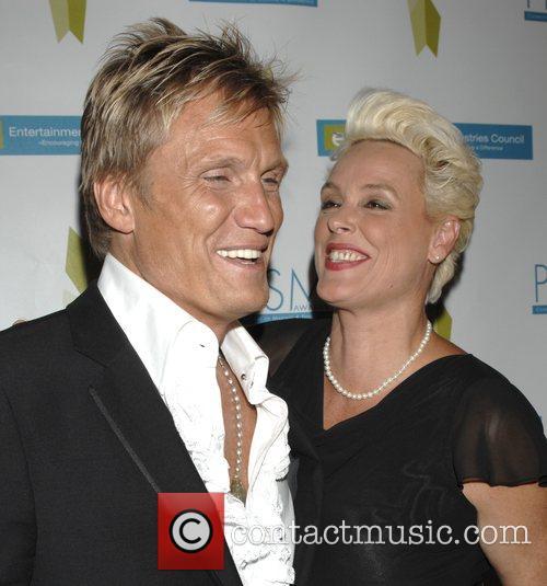 Dolph Lundgren and Brigitte Nielsen
