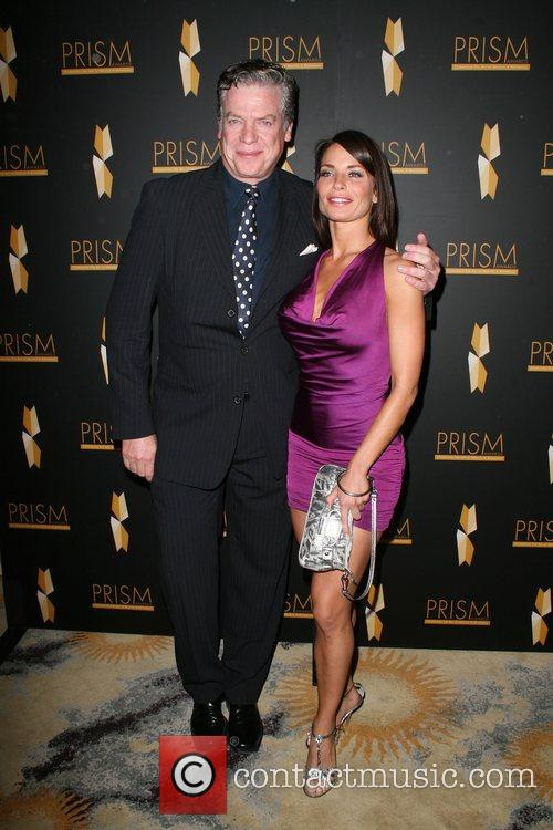 Christopher McDonald and guest 12th annual Prism awards...