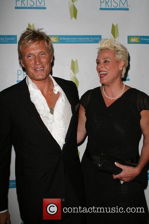 Dolph Lundgren and Brigitte Nielsen 12th annual Prism...